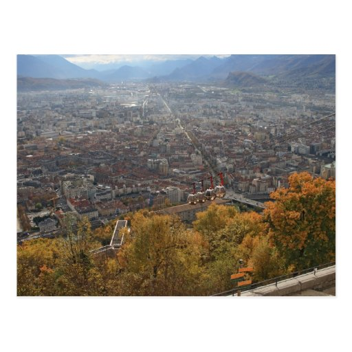 Manera de cable de Grenoble Tarjeta Postal