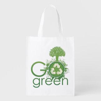 Manera de ir bolso reutilizable bolsas de la compra