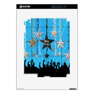¡Manera de ir! , Estrellas que cuelgan con la Calcomanía Para iPad 2