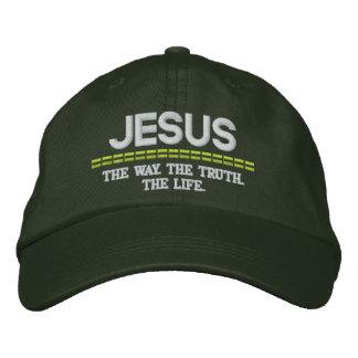 Manera de Jesús-. La verdad. El gorra ajustable de Gorra De Beisbol Bordada