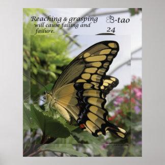 Manera de la mariposa - 24 que alcanza impresiones