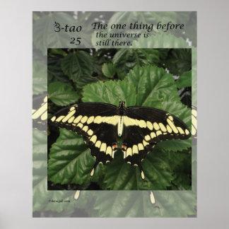 Manera de la mariposa - 25 una cosa poster