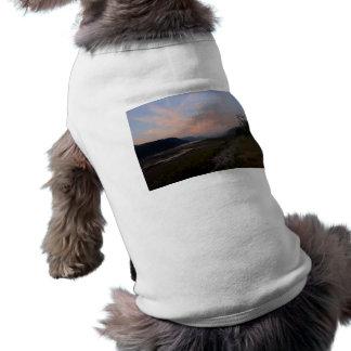 Manera de los ríos playera sin mangas para perro