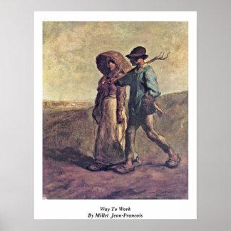 Manera de trabajar por el mijo (ii) Jean-Francois Impresiones