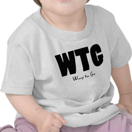 Manera de WTG de ir Camiseta