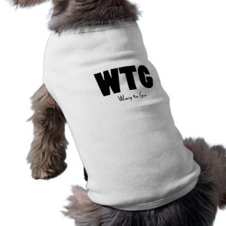 Manera de WTG de ir Camisetas De Mascota