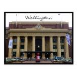 manera del carril de Wellington Tarjetas Postales