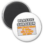 Manera del cirujano plástico… de vida imán para frigorifico