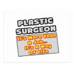 Manera del cirujano plástico… de vida postales