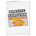 Manera del cirujano plástico… de vida felicitaciones