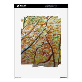 manera del otoño calcomanía para iPad 2