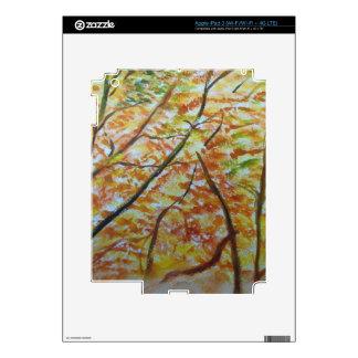 manera del otoño iPad 3 skin