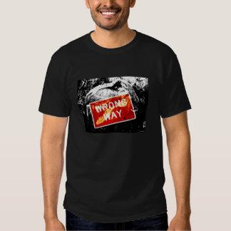 ¡Manera incorrecta de T-Rex! Camiseta principal Playera