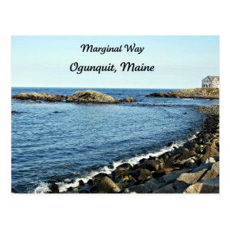 Manera marginal, Ogunquit, Maine Postal