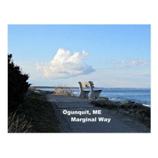 Manera marginal, Ogunquit, Maine Tarjetas Postales