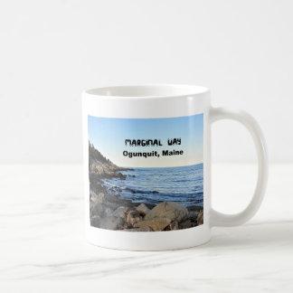 Manera marginal, Ogunquit, Maine Taza