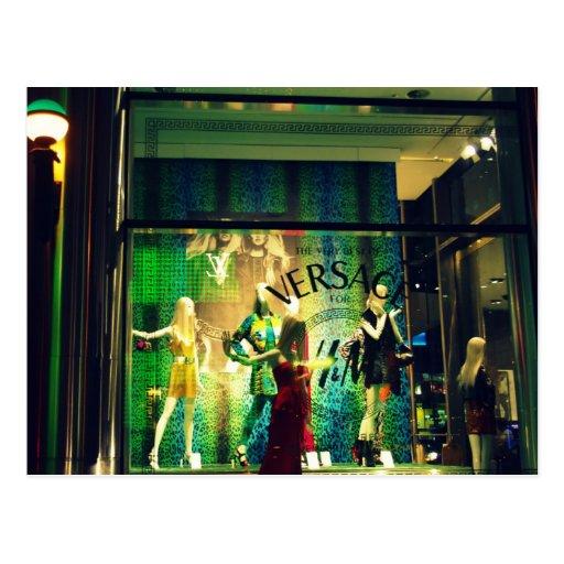 Manera Versace en Nueva York Postal