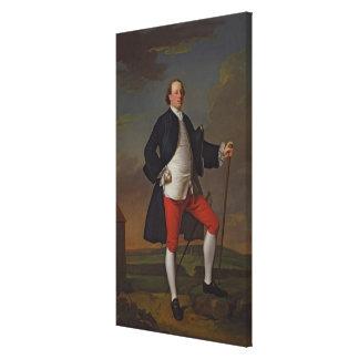 Maneras de Juan marqués de Granby 1745 Lienzo Envuelto Para Galerías