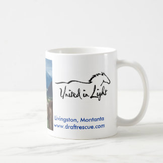Manes and Mountains Classic White Coffee Mug