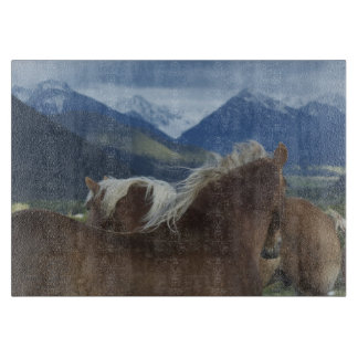 Manes & Mountains Cutting Board