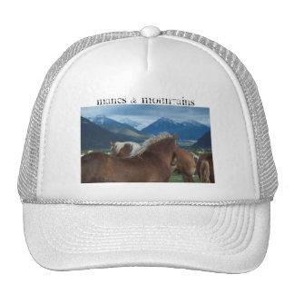 Manes Mountains Hat