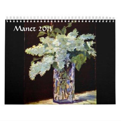 Manet 2013 Calendar