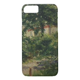 Manet | A Corner of the Garden in Rueil, 1882 iPhone 7 Case
