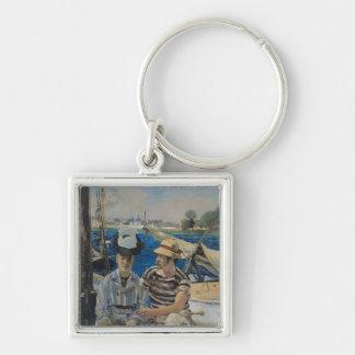 Manet | Argenteuil, 1874 Keychain