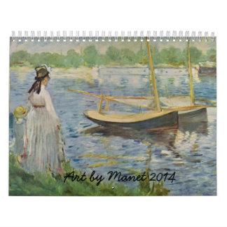 Manet Art 2014 Calendar