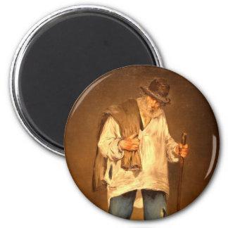 Manet Art 2 Inch Round Magnet