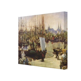 Manet Art Stretched Canvas Print