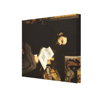 Manet Art Gallery Wrapped Canvas