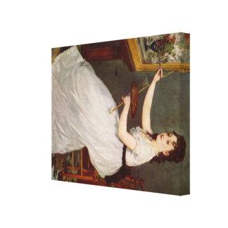 Manet Art Stretched Canvas Prints