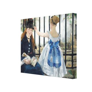 Manet Art Gallery Wrap Canvas