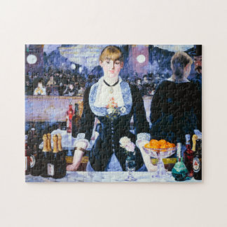 Manet Bar at the Folies Bergere Puzzle