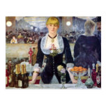 Manet Bar In The Folies-Bergere Post Card