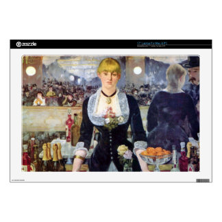 """Manet Bar In The Folies-Bergere Skins For 17"""" Laptops"""