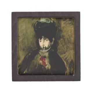 Manet | Berthe Morisot Wearing a Veil, 1872 Jewelry Box