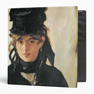 Manet | Berthe Morisot with a Bouquet of Violets 3 Ring Binder