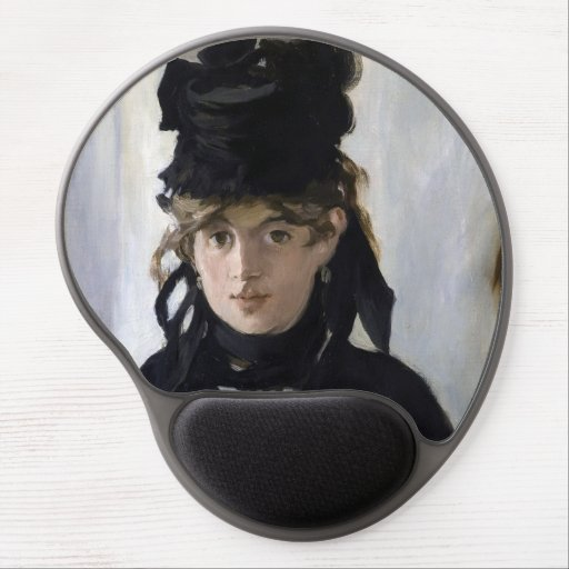 Manet - Berthe Morisot with a bouquet of violets Gel Mouse Pad
