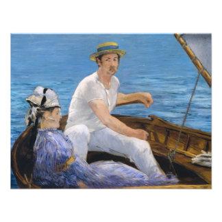 Manet Boating Invitations