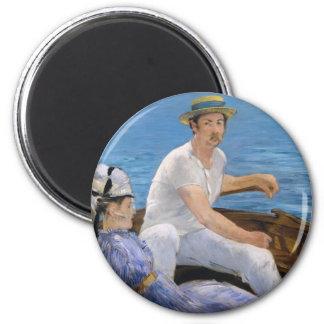 Manet Boating Magnet