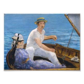 Manet Boating Print Photo Art