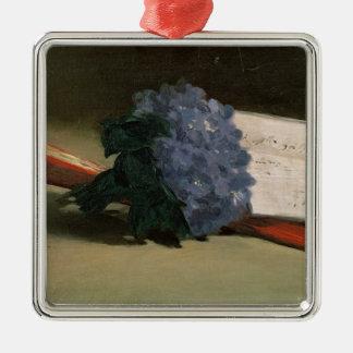 Manet | Bouquet of Violets, 1872 Metal Ornament