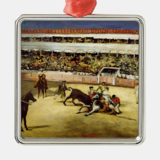 Manet | Bull Fight, 1865 Metal Ornament