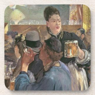 Manet | Corner of a Cafe-Concert, 1878-80 Beverage Coaster