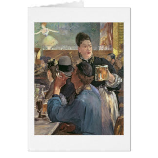 Manet | Corner of a Cafe-Concert, 1878-80 Card