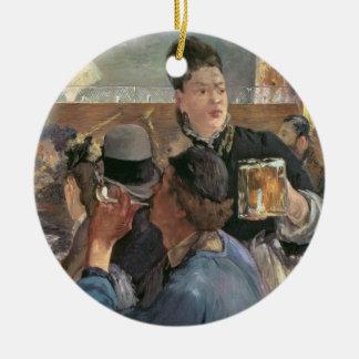 Manet | Corner of a Cafe-Concert, 1878-80 Ceramic Ornament