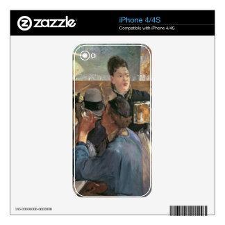Manet | Corner of a Cafe-Concert, 1878-80 Decals For iPhone 4