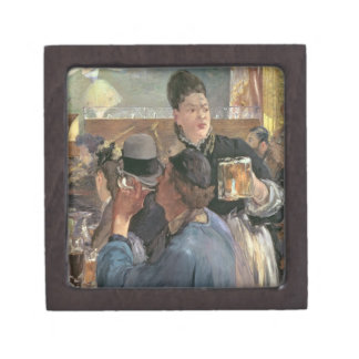 Manet | Corner of a Cafe-Concert, 1878-80 Jewelry Box